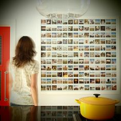 Polaroid display ideas