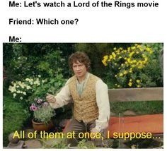 "28 Lord Of The Rings Memes For The Tolkien-Obsessed - Funny memes that ""GET IT"" and want you to too. Get the latest funniest memes and keep up what is going on in the meme-o-sphere. Funny Memes, Hilarious, Funniest Memes, Funny Quotes, Funny Captions, Stupid Memes, Movie Quotes, O Hobbit, The Hobbit Movies"