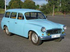 V roce 1961 se v pobočném závodě AZNP ve Vrchlabí začalo vyrábět kombi Škoda 1202 Car Makes, Side Door, Station Wagon, Spartacus, Car Car, Tudor, Old Cars, Cars And Motorcycles, Vintage Cars