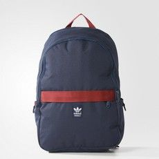 Adidas Essential Backpack - NAVY/RUSSIAN RED