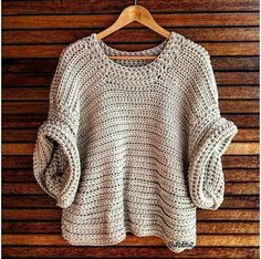 The Short Sleeve sister to the Stevie Jumper, the Ziggy SS Slouch Jumper is an absolute must have piece. The Ziggy SS Slouch Jumper is made onesize. Crochet Cowl Free Pattern, Crochet Cardigan, Knitting Patterns Free, Crochet Lace, Free Crochet, Crochet Patterns, Hat Patterns, Free Knitting, Crochet Designs