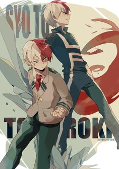 Boku no Hero Academia || Todoroki Shouto