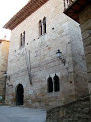 Ayuntamiento Puertomingalvo. Teruel.
