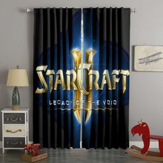 3D Printed Starcraft Style Custom Living Room Curtains – Westbedding