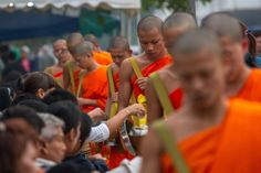 Laos Travel Guide: 5 Things to Consider Before Observing the Alms Giving Ceremony in Luang Prabang Laos Travel, Asia Travel, Luang Prabang, Best Volunteer Abroad Programs, March Book, 5 Star Hotels, World Heritage Sites, Southeast Asia, Adventure Time