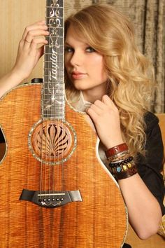 T-Swift :) bronze with taylor fret board. Freaking love this one
