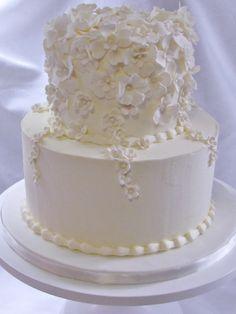 Muskoka wedding cake