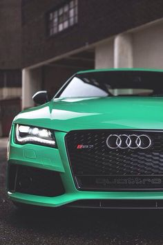Audi, I want an Audi in this color!