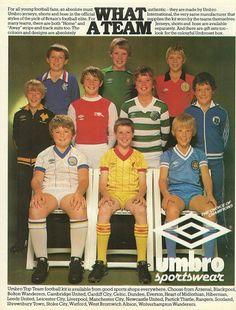 Football Ads, Football Uniforms, Vintage Football, Football Jerseys, English Football League, Association Football, Sport Clothing, Most Popular Sports, Vintage Sport