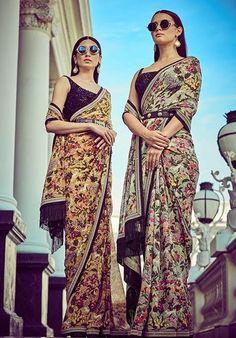 8 Brides Who Ditched The Lehenga And Wore Sabyasachi Sarees To Their Wedding - Sabyasachi Sarees, Sabyasachi Bride, Indian Sarees, Lehenga Saree, Bollywood Saree, Bollywood Fashion, Latest Saree Trends, Latest Sarees, Indian Attire