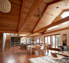 Open living room, dining room, kitchen