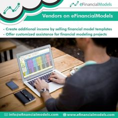 Financial Model Vendors on eFinancialModels sell templates and source projects for tailor-made financial models Financial Modeling, Templates, Create, Projects, Models, Log Projects, Stencils, Blue Prints, Vorlage