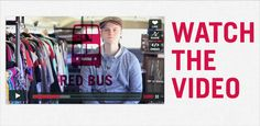 red bus project. give. buy. it all helps orphans. what's your crazy idea? give it a whirl!
