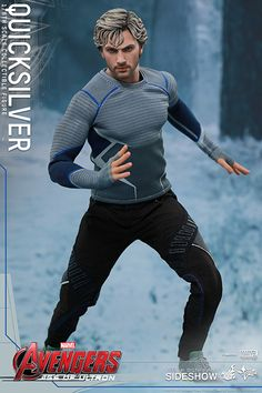 The Hot Toys Quicksilver Sixth Scale Figure is now available at Sideshow.com for fans of Marvels Avengers: Age of Ultron.