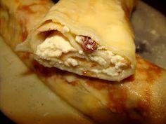 Bucataria Irinei...: Clatite cu branza si smantana la cuptor Deserts, Pie, Food, Torte, Cake, Fruit Cakes, Essen, Postres, Pies