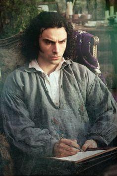 Asian Turner in Desperate Romantics - Dante Gabriel Rossetti