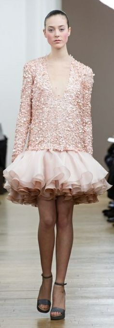 Julien Fournie Haute Couture Spring 2014 - would live this as a mini skirt in any colour :)