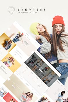 Fashion Clothing & Complements Online Store #Prestashop #template. #themes #business #responsive #webshop #Prestashopthemes