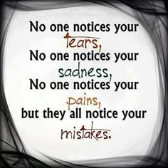 Noticing Mistakes