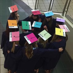 "The level of creativity by students on their ""graduation caps"" are epic! Sadly, where I'm from, we had to return our hats so I couldn't do anything like this. lol"