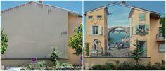 Série de fotos mostra 10 lugares transformados pelo grafite
