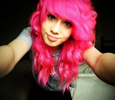 I Used to hate the color pink. But this is in consideration. Im liking pink for some reason