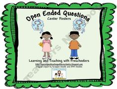 How important are open ended questions for kids?