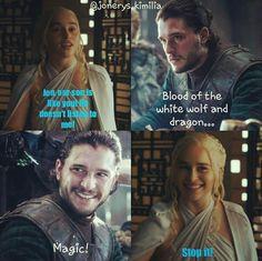 KIIUUTT #gameofthrones #jonerys #jonsnow #dany #daenerystargaryen #khaleesi #kinginthenorth
