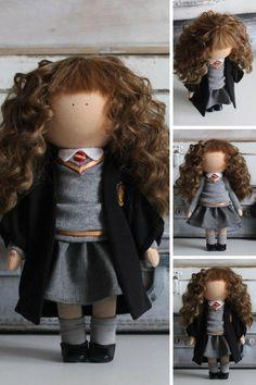 Hermione doll Movie Doll by photo Portrait by AnnKirillartPlace
