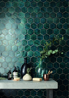 Kitchen Interior Design Exciting New Tile Trends for 2017 (And a Few Old Favorites Here to Stay) - Hi, my name is Nancy Mitchell, and I'm a tile addict Bathroom Interior Design, Decor Interior Design, Kitchen Interior, Luxury Interior, Gray Interior, Interior Ideas, Bathroom Inspiration, Bathroom Ideas, Bathroom Remodeling