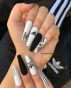 Best Nails ideas & tutorials of 2018 Summer Acrylic Nails, Best Acrylic Nails, Bling Nails, Swag Nails, Gucci Nails, Glow Nails, Fire Nails, Luxury Nails, Dream Nails