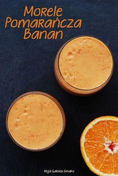 Koktajl morelowo-pomarańczowy