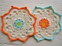 Anabelia Handmade: more crochet coasters