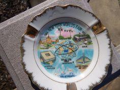 New York World's Fair Souvenir Ash Tray by vintageinmichigan, $20.00