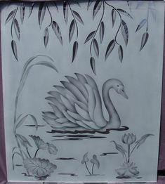Free Glass Etching Stencils | MENU