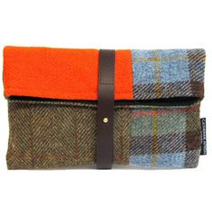 KATE CLUTCH ORANGE FLASH