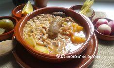 El calaixet de la iaia: Arròs amb fesols i naps. Arroz con alubias y nabos, manjar valenciano paso a paso