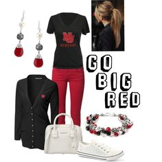 """College Football Pride"" by elisailana on Polyvore"