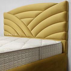 Bed Headboard Design, Bedroom Bed Design, Bedroom Furniture Design, Headboards For Beds, Sofa Furniture, Bed Back Design, Velvet Bed, Luxurious Bedrooms, Home Interior Design