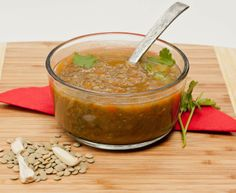 A simple yet comforting soup recipe - Gluten free and vegan lentil soup recipe. Please click on the photo in Yumgoggle to get to this delicious recipe. Enjoy!