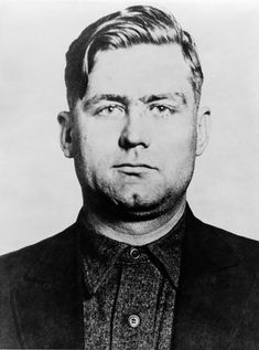 George 'Bugs' Moran (1891-1957), Chicago gangster and Polish-Irish boss of the North Side Gang, a rival of Al Capone's mob. Capone killed 6 members of Moran's gang at the 1929 St. Valentine's Day Massacre.
