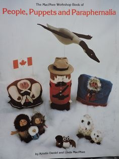MacPhee Workshop People Puppets and Paraphernalia Vintage Booklet Canadian Crafts Buffalo Polar Bear Dolls Stuffed Animals Cushions Puppets People Puppets, Animal Cushions, Raggedy Ann And Andy, Bear Doll, Finger Puppets, Stuffed Animals, Polar Bear, Vintage Sewing, Booklet