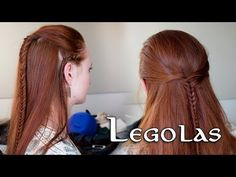 Lord of the Rings Hair Tutorial for Men - Legolas - YouTube