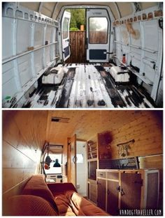 The Homestead Survival | Convert A Van Into A Mobile Tiny Home | Tiny Home - House - Camper - DIY Project http://thehomesteadsurvival.com