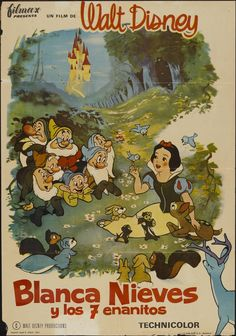 Snow White and the Seven Dwarfs, Disney, 1937