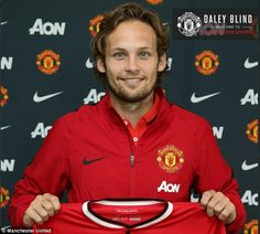 Name: Daley Blind. Position: Midfield/Defender, Years at Club: 2014-Present.