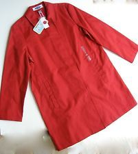 Trench Coat Raincoat Red Old Navy Spring NWT Large Classic Syle