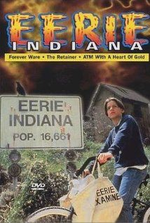 """Eerie, Indiana (1991-1992) - Marshall Teller's family moves to the small country town of Eerie, Indiana (Pop. 16,661). There, Marshall discovers that Eerie, as he puts it, """"is the center of weirdness for the universe"""". Elvis lives there, so do a pair of twins who stay young by sleeping in Tupperware, and many other strange things. Each episode, Marshall and his friend Simon collect evidence about the creepy things that happen there."""