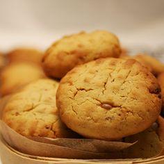 Biscoitos de Mel com Muesli e Gengibre - Cookies with honey, muesli and Ginger