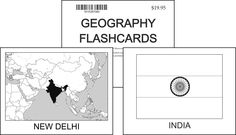 Geography Flashcards from Memoria Press $20
